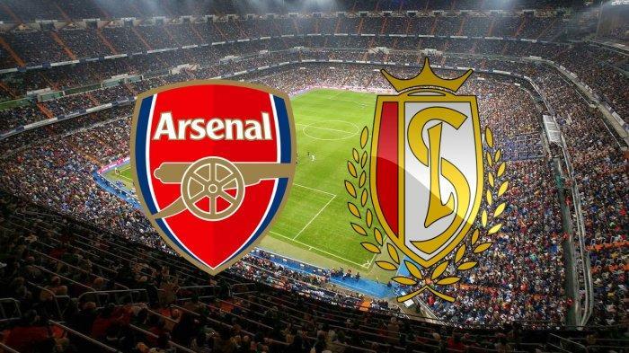 Tayang di SCTV! Live Streaming Arsenal vs Standard Liege Liga Europa, Nonton via TV Online Vidio.com