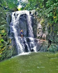 Arung jeram di sungai Batang Merangin, Bangko. Wisata ini berlokasi di desa Air Batu Kecamatan Renah Pemberap Kabupaten Merangin.