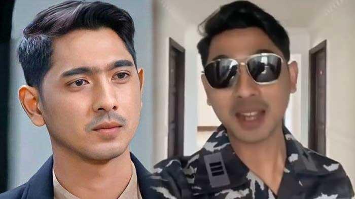 Arya Saloka Buat Fans Heboh dengan Bergaya Pakai Seragam TNI AL dan Kacamata Hitam, Intip Gayanya