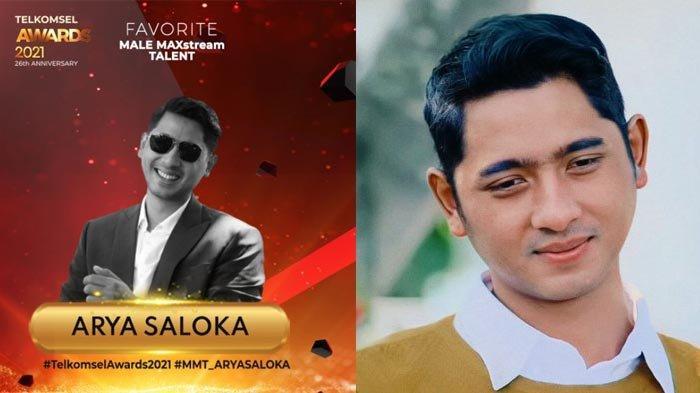 Arya Saloka Menang Penghargaan Telkomsel Awards 2021, Ungguli Raffi Ahmad dan Reza Rahadian