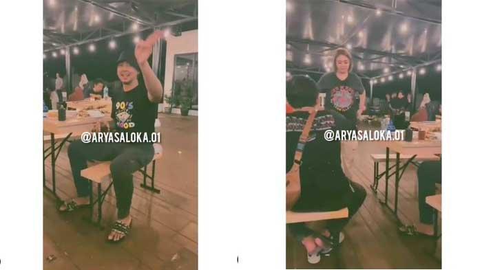 Arya Saloka Traktir Kru Ikatan Cinta, Interaksinya Bersama Amanda Manopo Tertangkap Kamera