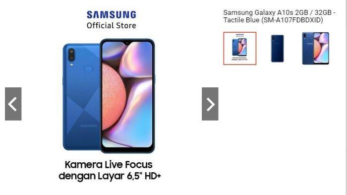Harga dan Spesifikasi Samsung Galaxy A10s, Ada Diskon Hingga 7 Persen