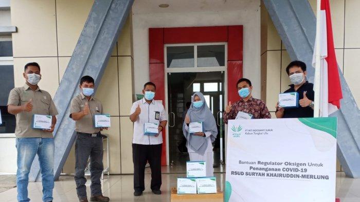 Di Tengah Langkanya Oksigen, Asian Agri Bantu Regulator Oksigen Ke Rumah Sakit