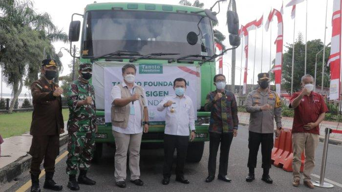 Asian Agri bersama Tanoto Foundation Donasikan 24 Ton Oksigen Bagi Pasien Covid-19