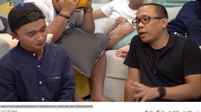 Asisten Raffi Ahmad Tak Kuat Menahan Haru Lihat Majikannya Bekerja Keras Walau sedang Sakit