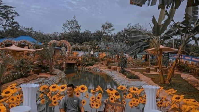 Objek Wisata di Bungo Hadirkan Seribu Bunga di Athaya Garden Bikin Serasa Seperti di Negeri Dongeng