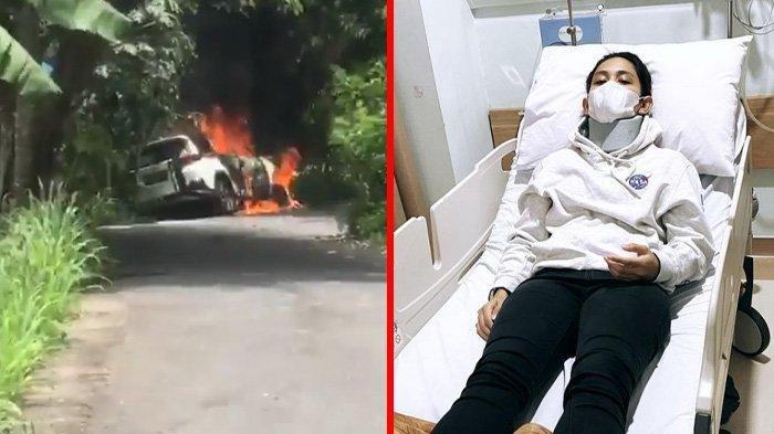 Athira Farina Dinyatakan Positif Covid-19 Usai Mengalami Kecelakaan hingga Sebabkan Mobil Terbakar