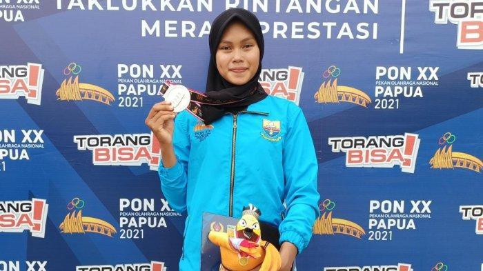 Atlet Dayung Jambi Mutiara Rahma Putri Raih Perak Dalam PON XX Papua