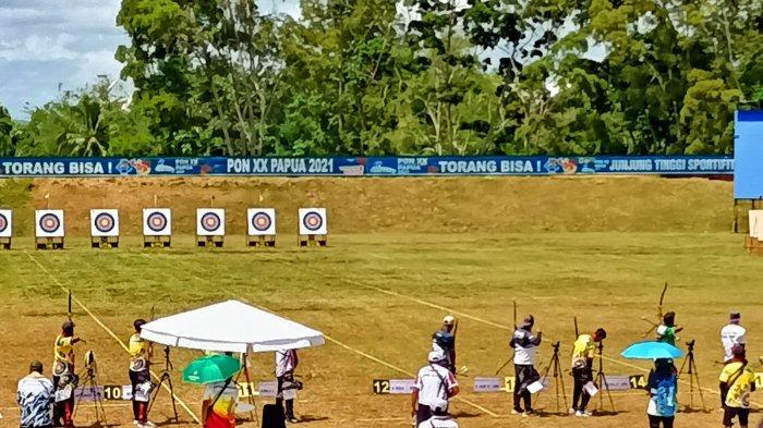 Kalahkan Atlet DKI, Atlet Panahan Jambi Masuk Babak Final PON XX Papua