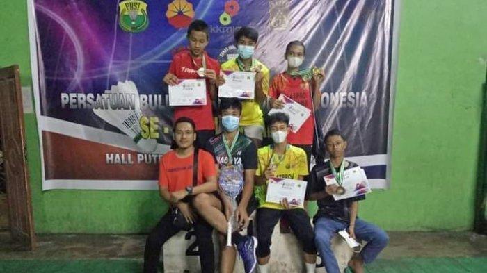 Atlet Bulutangkis Tebo Raih 4 Medali Emas Pada Kejuaraan Tonext Arsento 88 di Jambi