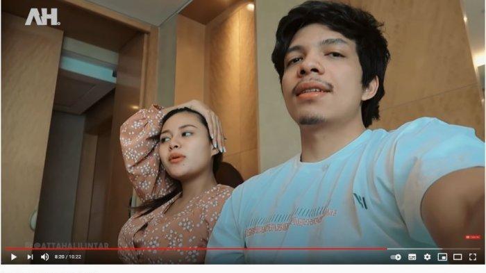 Atta Halilintar dan Aurel usai sah jadi pasangan suami istri