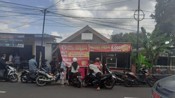 Kuliner Jambi, Ayam Geprek HBA Buka Cabang Saat Pandemi, Gratiskan 300 porsi Ayam Geprek
