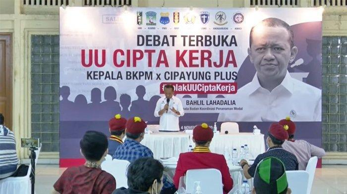 Kata Kepala BKPM Bahlil, Indonesia Predikat Satu Negara Terjelek Dalam Hal Mengurus Izin Usaha