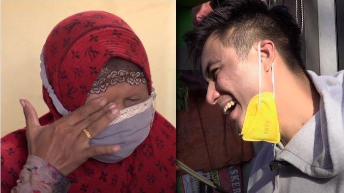 Perlakuan Baim Wong Tinggalkan Uang Segepok di Gerobak, Penjual Gorengan Syok Lihat Aksi Ayah Kiano