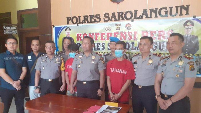 Bajing Loncat dan Pencuri Ternak di Sarolangun, Dibekuk Polisi, Sempat Sembunyi di Balik Pohon Sawit