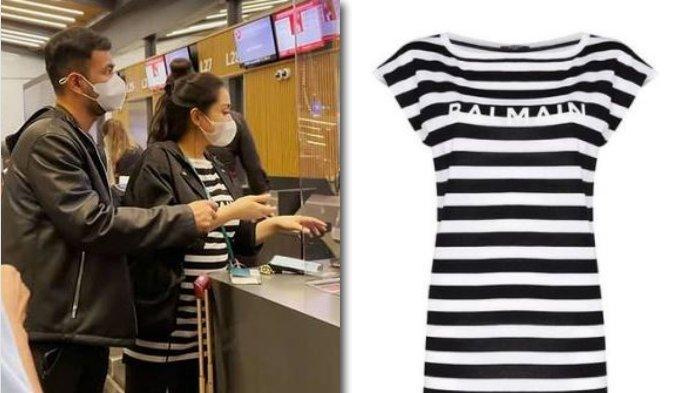 Nagita Slavina Kenakan T-Shirt Motof Zebracroos, Warganet Langsung Kaget: Harganya Ngajak Becanda
