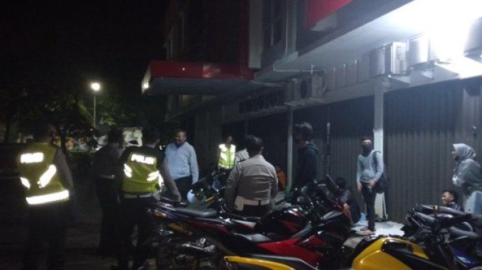 Kocar-kacir, Pebalap Liar di Bandara Lama Dibubarkan Polisi Ada yang Nekat Lari & Sembunyi di Sumur