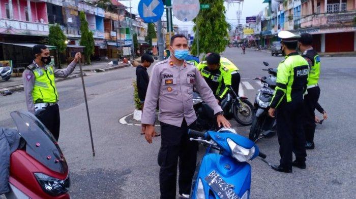 Balap Liar Meresahkan Warga, Polsek Muara Bungo Bertindak, Sejumlah Sepeda Motor Diamankan