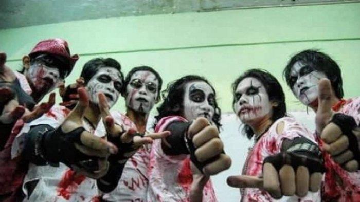 Tak Lagi Misterius,  Terbongkar Wajah Sebenarnya Personil Kuburan Band Tanpa Make Up Seram!