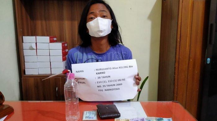 Bandar Narkoba di Merangin Jambi Ini Ditangkap Polisi Saat Transaksi Sabu