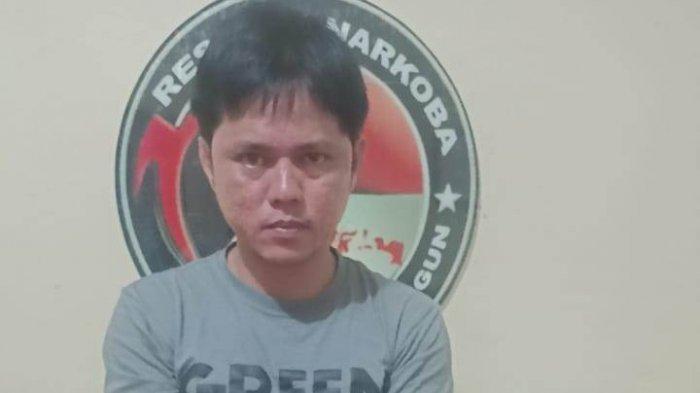 Bandar Narkoba di Singkut Diringkus Polres Sarolangun, Polisi Temukan Delapan Paket Sabu