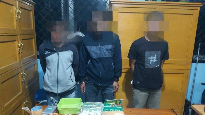 BREAKING NEWS BNNP Jambi Tangkap Bandar Narkoba di Kuala Tungkal, Empat Paket Besar Sabu Diamankan
