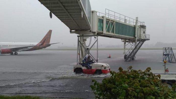 Banjir dan Longsor, Bandara Sam Ratulangi Manado Tutup, Penerbangan Dialihkan ke Gorontalo, Makassar