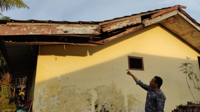 Kinerja Dinkes Merangin Disorot, Bangunan Puskesmas Pembantu di Nalo Gedang Memprihatinkan