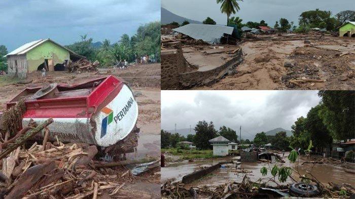 FAKTA Banjir Bandang di Adonara Flores, Puluhan Orang Meninggal, Ratusan Korban Tertimbun Longsor