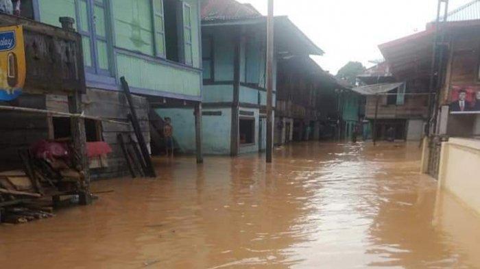 Waspada, Ada 73 Titik Rawan Banjir di Kabupaten Bungo, Ini Lokasinya