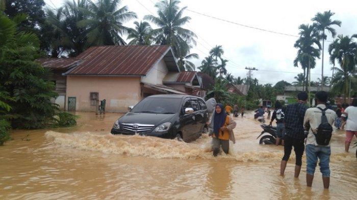10 Desa di Kecamatan Pauh Sarolangun Jadi Langganan Banjir, Kecamatan Rutin Lakukan Evaluasi