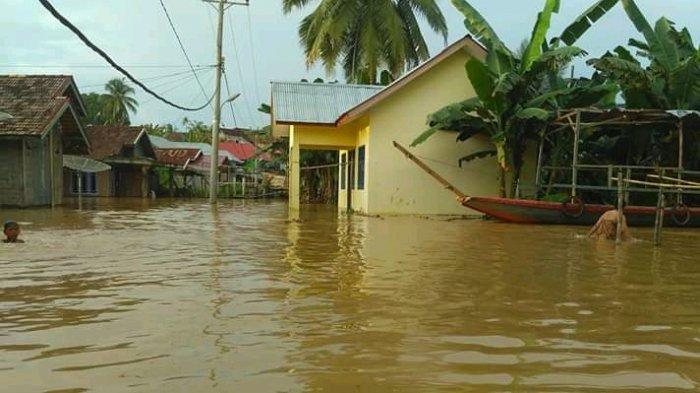 Hujan Deras, 84 Rumah di Sumay Terendam Banjir
