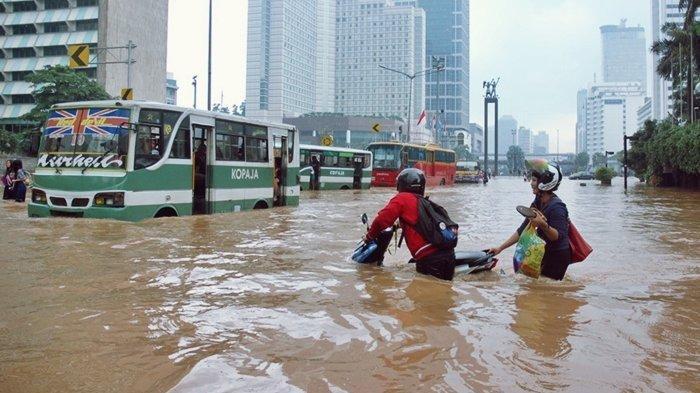NASA Prediksi Jakarta Terancam Tenggelam, Turun 40 Persen dari Permukaan, Wagub DKI Klaim Hal Ini