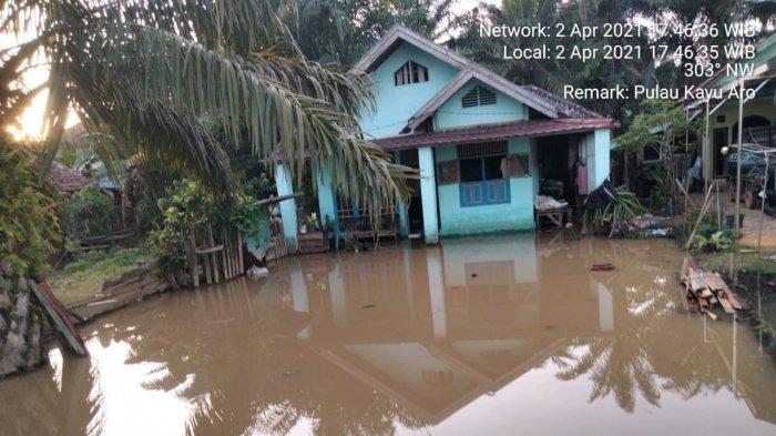 Debit Air Sungai Batanghari Naik Signifikan, Waspadai Muarojambi Sudah Siaga Tiga