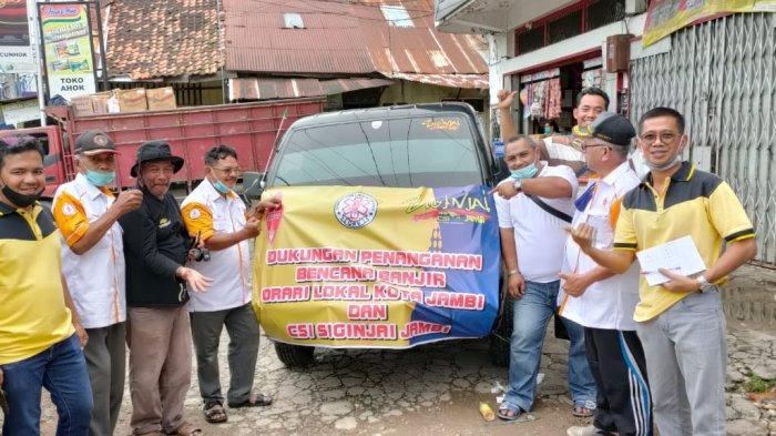 Prihatin Warga Yang Jadi Korban Banjir, Orari Lokal Kota Jambi Beri Bantuan Sembako