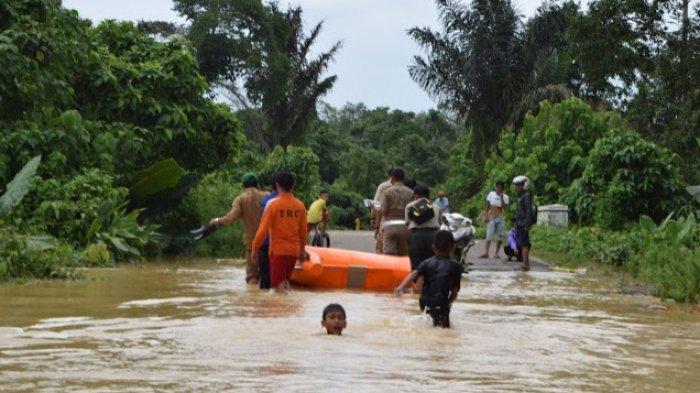 BPBD Tebo Ingatkan Masyarakat Waspadai Naiknya Air Sungai Batanghari