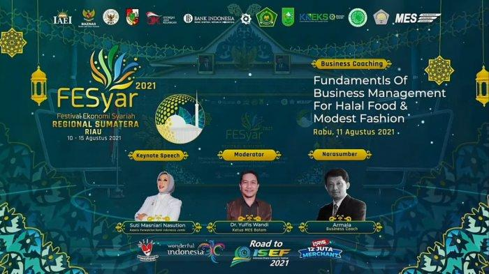 Bank Indonesia (BI) mengadakan Business Coaching Via Zoom Meeting