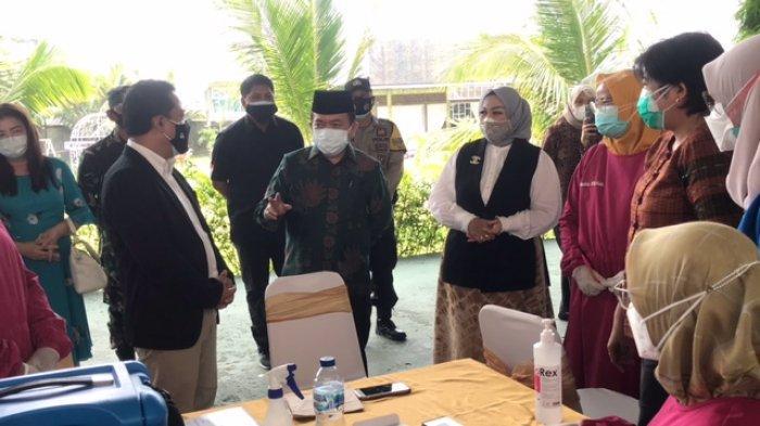 Bank Indonesia Bantu Tekan Penyebaran Covid-19 di Jambi, Ratusan Orang Ikut Vaksinasi Massal