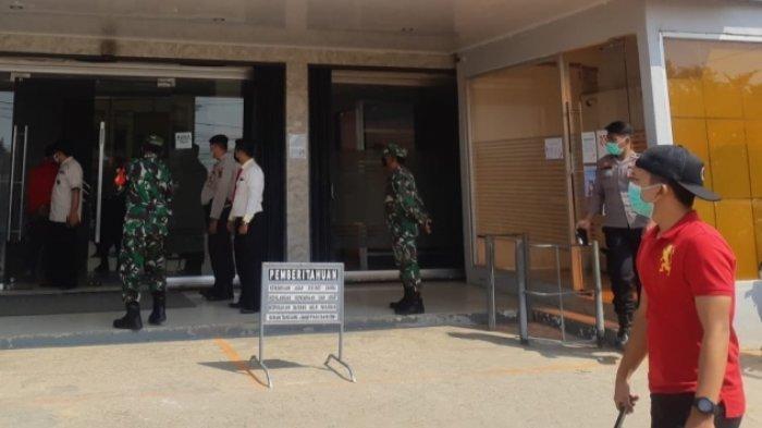 Bank Plat Merah di Singkut Sarolangun Kena Denda Rp 1 Juta Setelah Razia Prokes