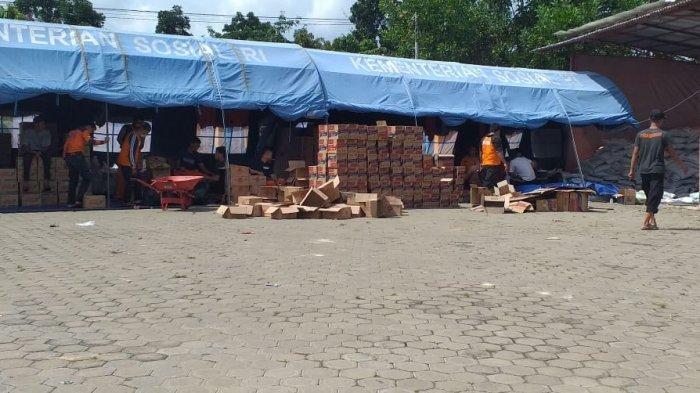 14.000 KK Korban Banjir di Batanghari Diberi Bantuan Sembako dari BPBD