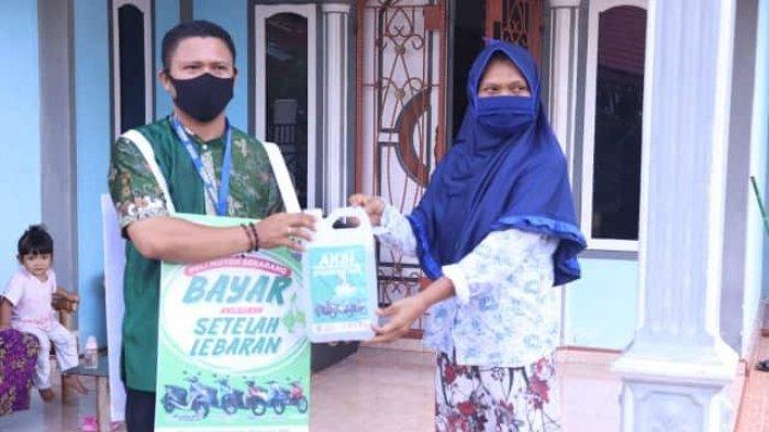 Yamaha Motor Bagi-bagi Masker dan Lakukan Penyemprotan Disinfektan di 5 Kelurahan