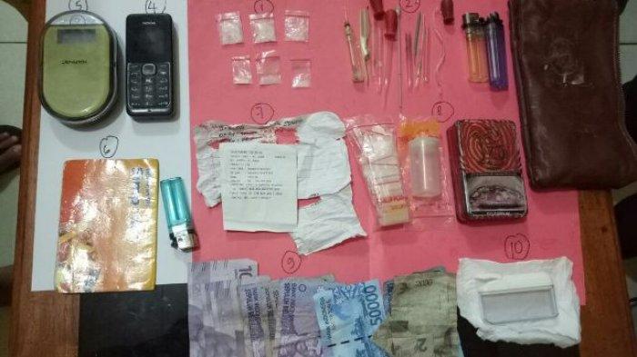 Terduga Bandar Narkoba Digerebek di Rumah, Polres Tanjab Timur Beraksi