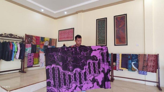 Batik Abstrak Tanjung Jabung Timur Menjadi Daya Tarik Tersendiri Bagi Konsumen