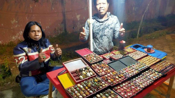 Batu Akik Yang Dijual di Depan Kuburan Cina, Kota Jambi Harganya Bisa Mencapai Puluhan Juta