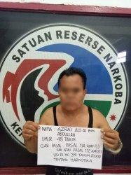 Bawa Sabu 3,67 Gram, Polisi Ringkus Bandar Narkoba tanpa Perlawanan di Kebun Sawit