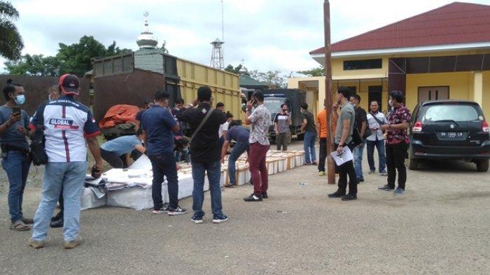 Tim Resnarkoba Polres Tanjung Jabung Timur (Tanjabtim) berhasil mengamankan ribuan bayi lobster