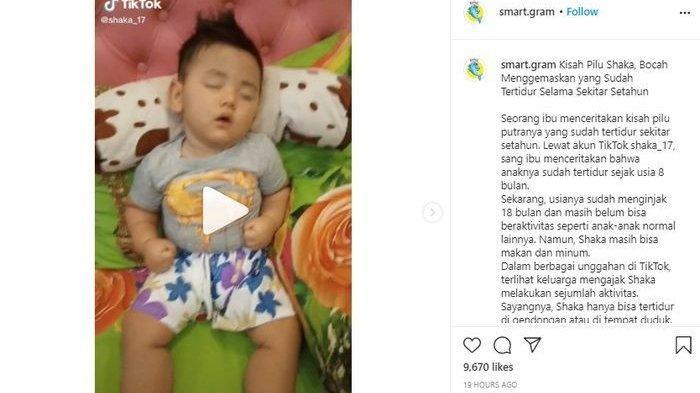 VIDEO Viral Bayi Ini 1 Tahun Tertidur, ke Tempat Ningsih Tinampi, Orangtua: Nggak Mau Ketemu Dede