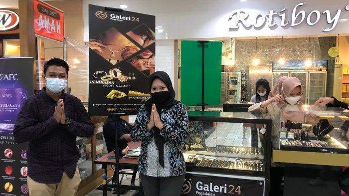 Bazar Emas Pegadaian dan Galeri 24 di Jamtos Hadiahkan Hampers Menarik