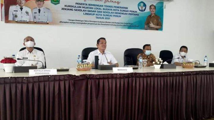 Wakil Wali Kota Sungai Penuh Minta Lembaga Kerapatan Adat Menjadi Mitra Pemerintah dalam Membangun