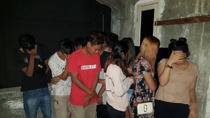 BREAKING NEWS Hari Pertama Pemberlakuan Jam Malam di Merangin, Belasan Pemuda Diamankan